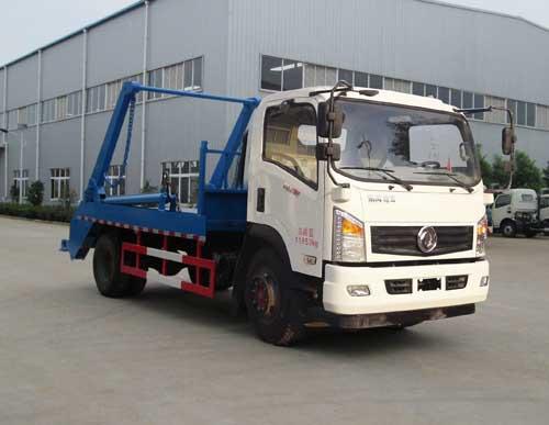 东风LNG摆臂式垃圾车
