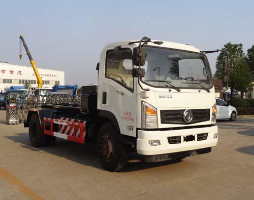 东风LNG车厢可卸式垃圾车
