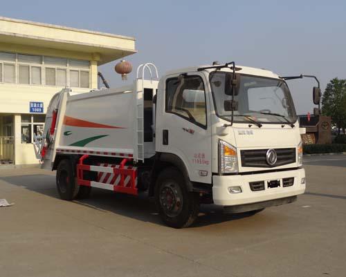 东风LNG CNG压缩对接式垃圾车