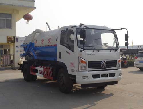 东风LNG CNG吸污车