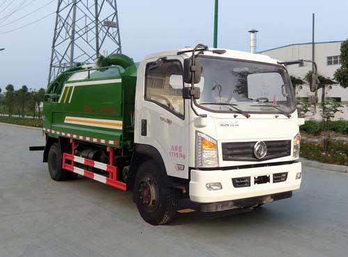 东风LNG CNG 清洗吸污车