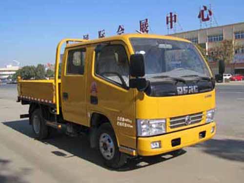 东风双排座自卸式垃圾车