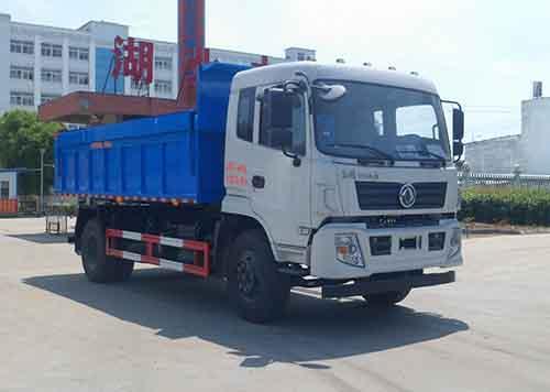 东风153自卸式垃圾车