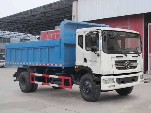 东风145自卸式垃圾车