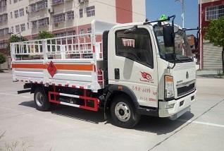 程力威牌CLW5044TQPZ5型气瓶运输车