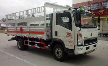 程力威牌CLW5100TQPZ5型气瓶运输车