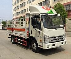 程力威牌CLW5041TQPB5型气瓶运输车