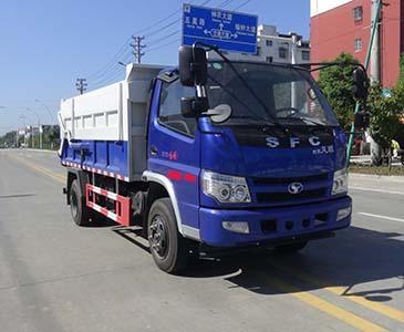 华通牌HCQ5043ZDJSF5型对接垃圾车
