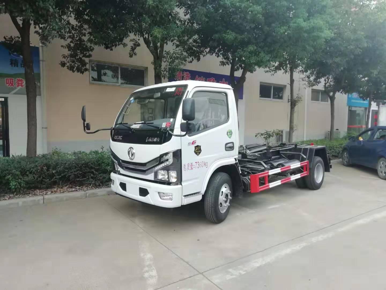 国六东风小多利卡福瑞卡车厢可卸式垃圾车 勾臂车厂家直销