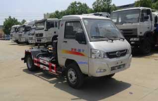 华通牌HCQ5033ZXXKM5型车厢可卸式垃圾车