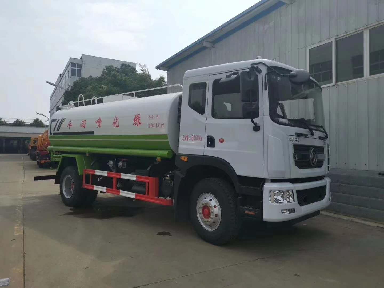 国六东风多利卡D9洒水车 14吨绿化喷洒车厂家