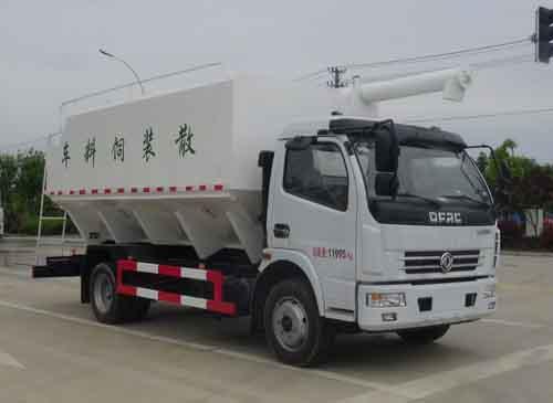 华通牌HCQ5125ZSLEQ6型散装饲料运输车