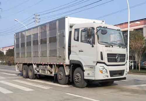 华通牌HCQ5310CCQ6DF型畜禽运输车