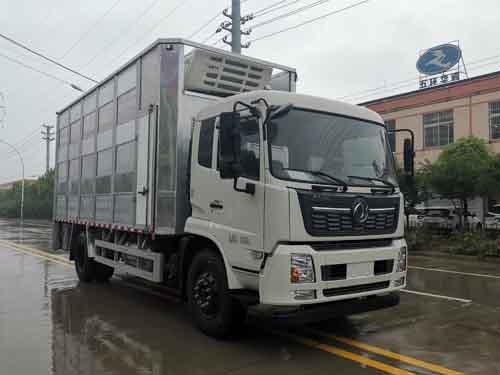 华通牌HCQ5180CCQDF6型畜禽运输车