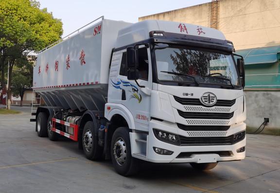 华通牌HCQ5311ZSLCA6型散装饲料运输车
