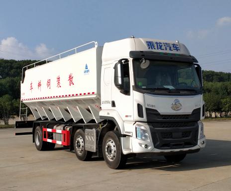 华通牌HCQ5250ZSLLZ6型散装饲料运输车